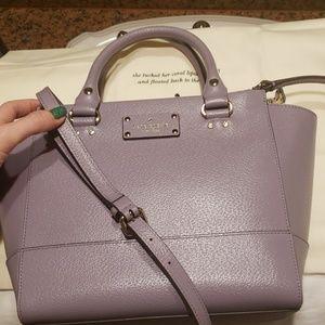 6e9363111a71b kate spade Bags - NWT Kate Spade Small Camryn Wellesley lush lilac